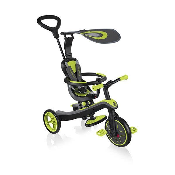 Triciclo evolutivo trike explorer 4 en 1 verde lima