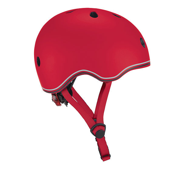 Casco go up con luz rojo