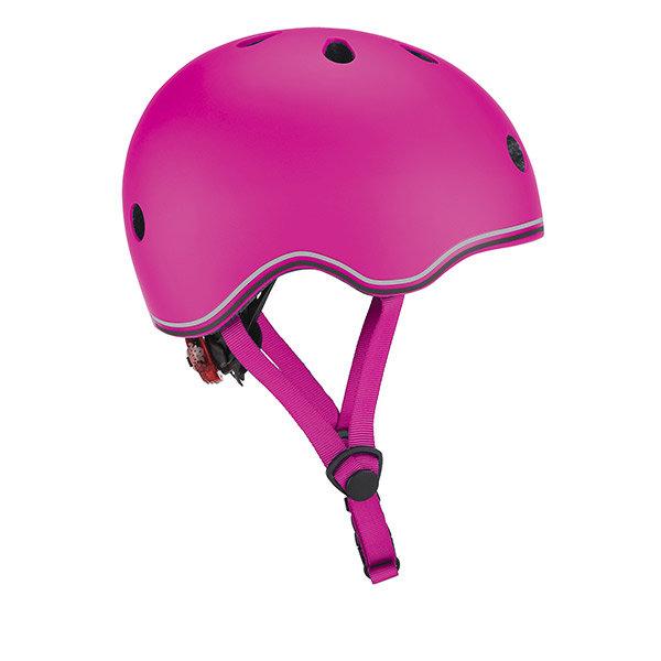Casco go up con luz rosa