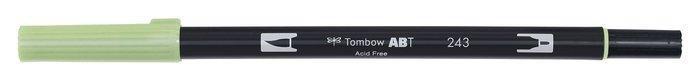 Rotulador tombow dual brush 243 mint