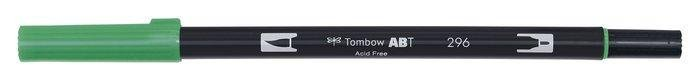 Rotulador tombow dual brush 296  green