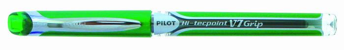 Rotulador pilot v-7 grip verde