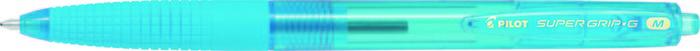 Boligrafo pilot supergrip g neon azul turquesa