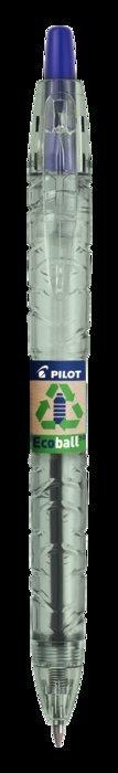 Boligrafo pilot ecoball base aceite 1.0 mm azul