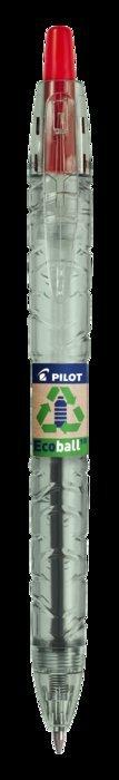 Boligrafo pilot ecoball base aceite 1.0 mm rojo