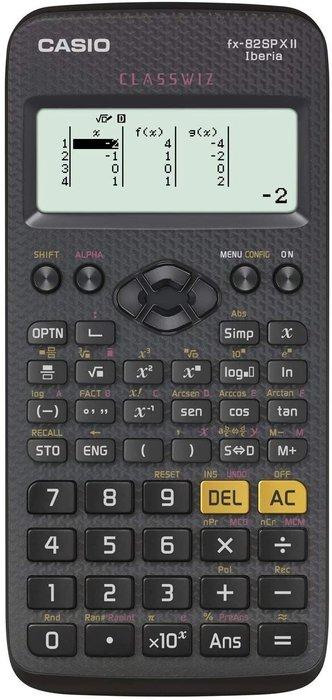 Calculadora casio cientifica fx82spx ii
