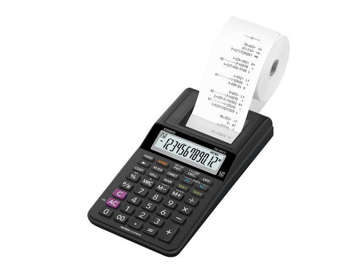 Calculadora casio sobremesa hr8 tec s cs1412 impresora