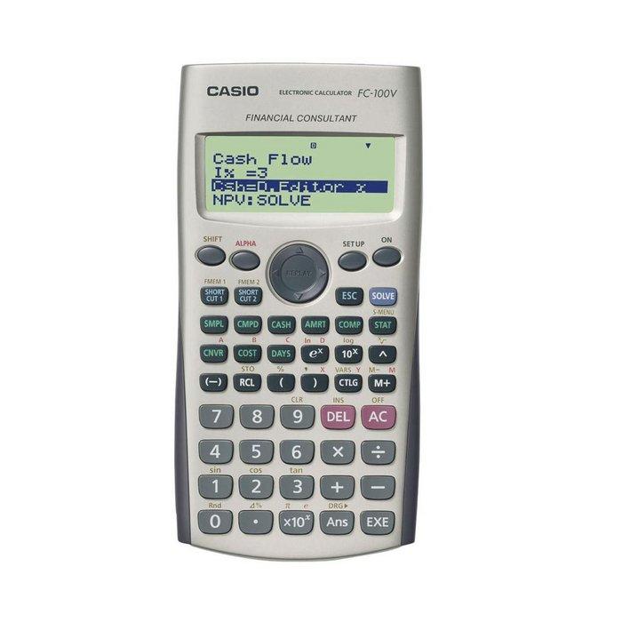 Calculadora casio financiera fc100v blister