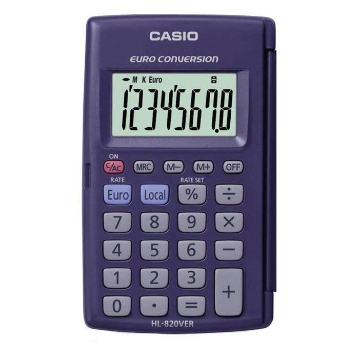 Calculadora casio bolsillo hl820ver blister