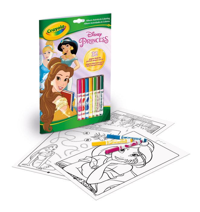 Libro actividades princesas disney