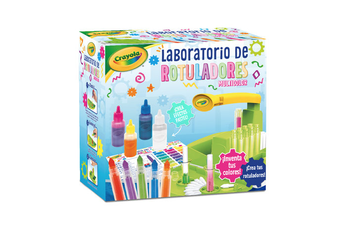 Laboratorio rotuladores multicolor crayola