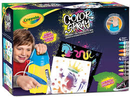 Super color spray crayola