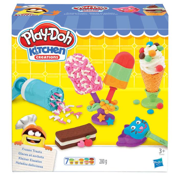 Juego play-doh helados deliciosos