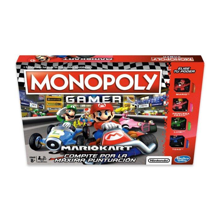 Juego de mesa monopoly gamer mario kart