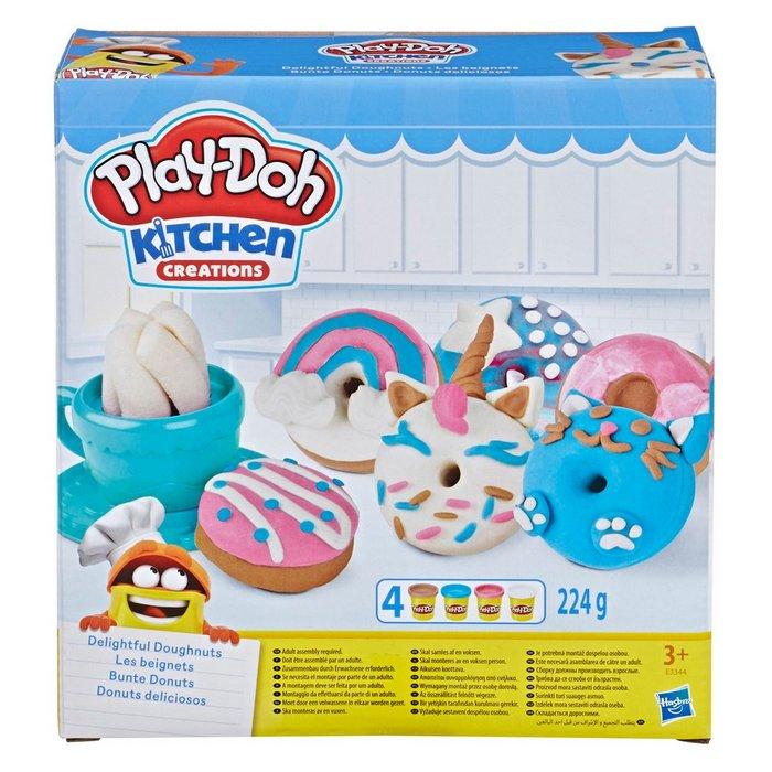 Juego play-doh donuts deliciosos