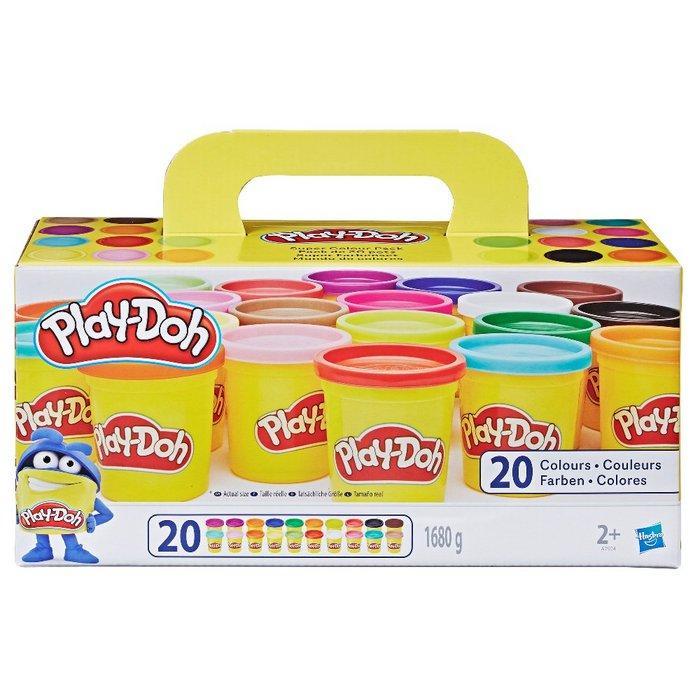 Juego play-doh pack 20 botes