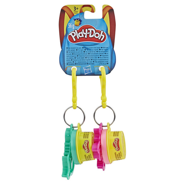 Juego play-doh clips