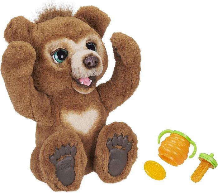 Furreal friends peluche interactivo cubby mi oso curioso