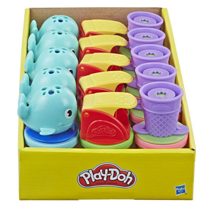Expositor 15 juegos play-doh mini bote y accesorio