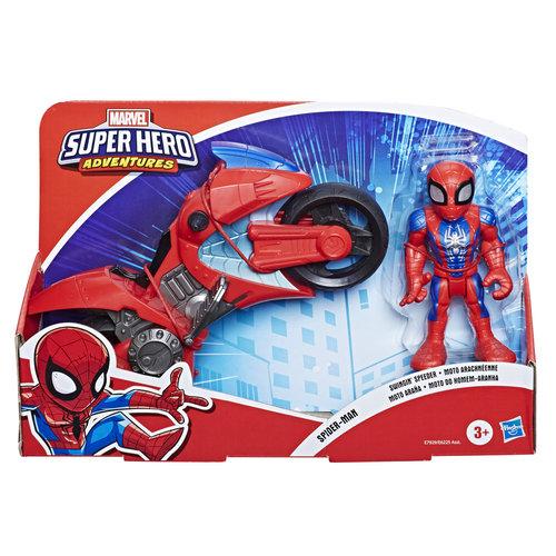 Super hero adventures figura y motocicleta surtidos