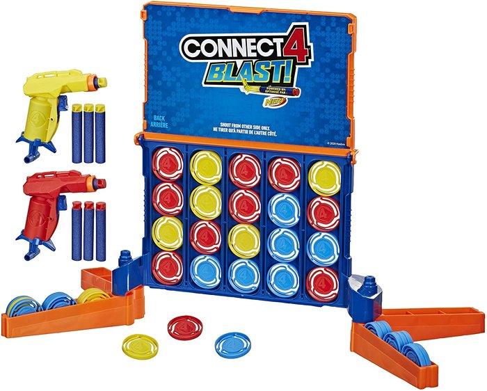Juego conecta 4 blast