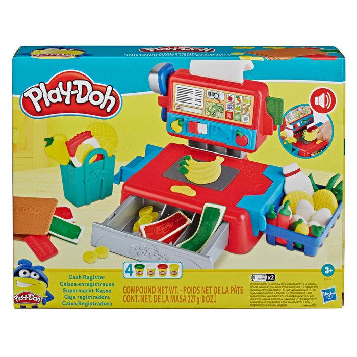 Juego play-doh caja registradora