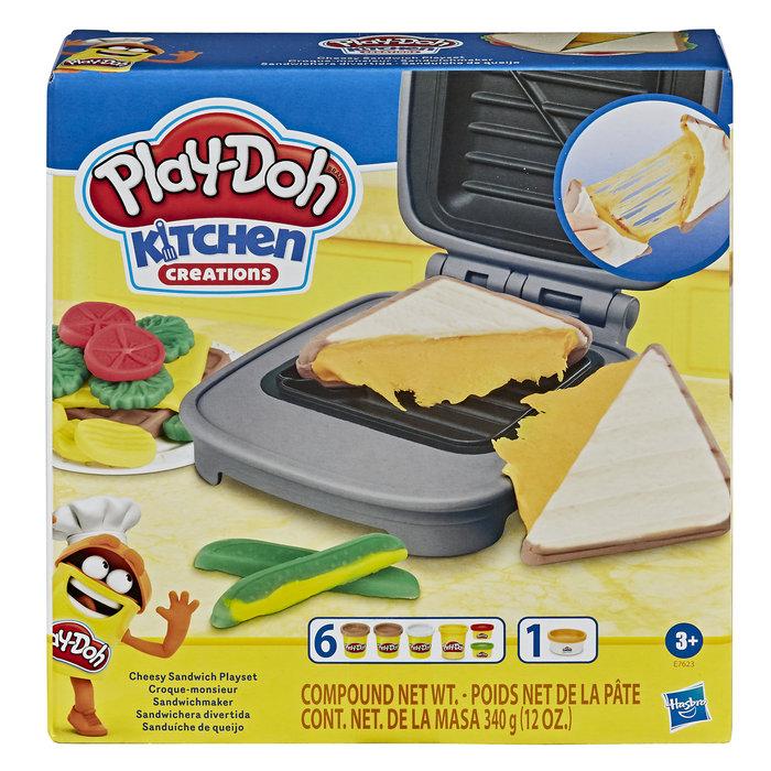 Juego play-doh sandwichera