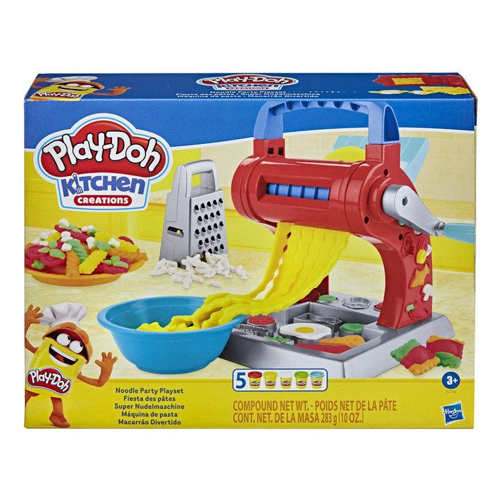 Juego play-doh maquina de noodles