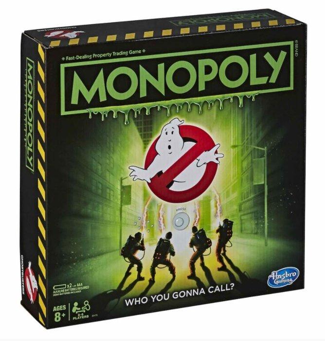 Monopoly cazafantasmas ghostbusters