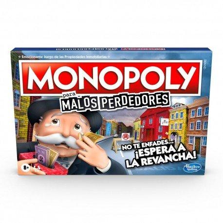 Juego monopoly malos perdedores