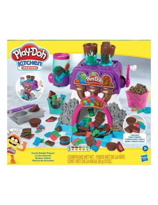 Juego play-doh fabrica de chocolate