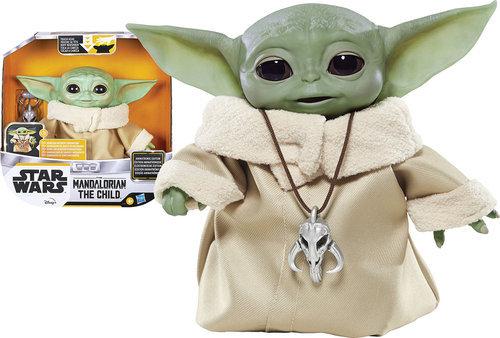 The child baby yoda animatronic 25 cm star wars