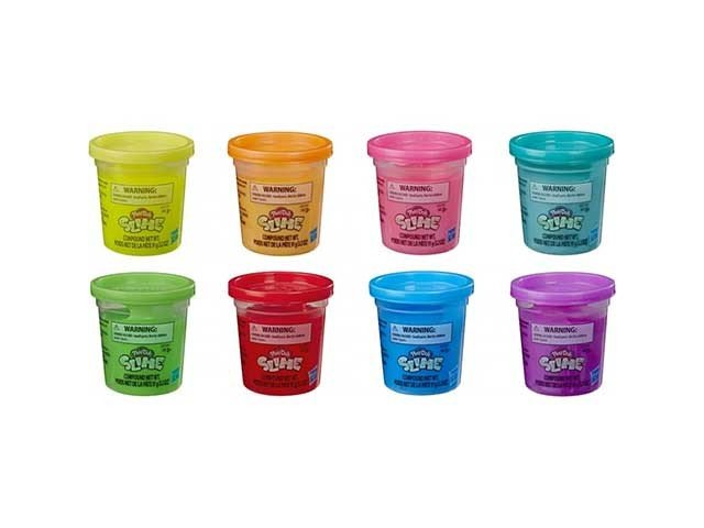Bote slime play-doh surtidos