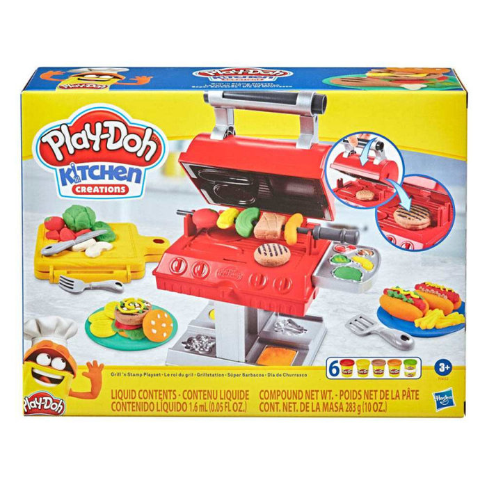 Play-doh barbacoa con accesorios