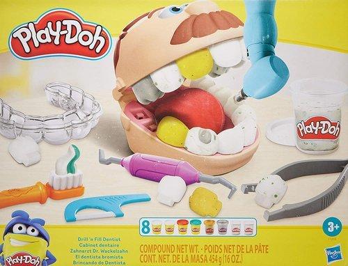 Juego play-doh el dentista bromista
