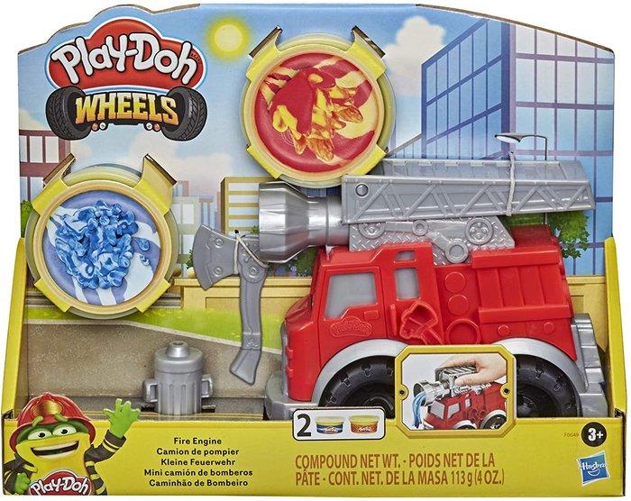 Play-doh camion de bomberos