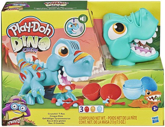 Play-doh- crunchin t rex