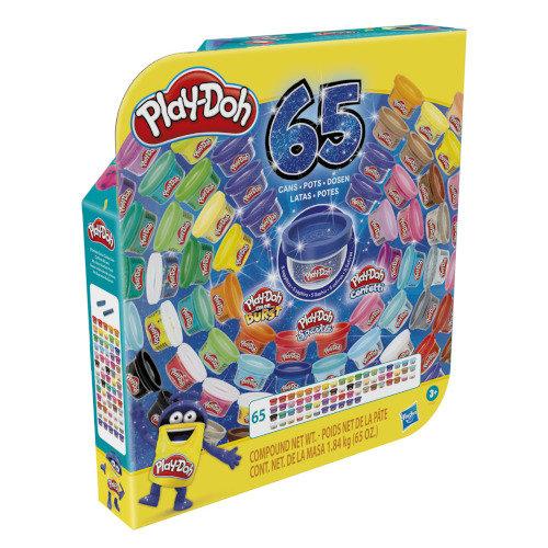 Pack 65 botes play-doh surtidos edicion 65 aniversario