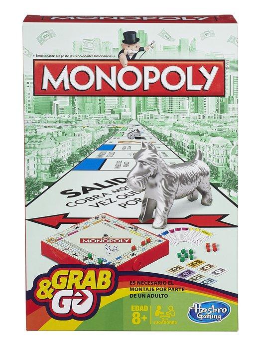 Juego de mesa monopoly viaje