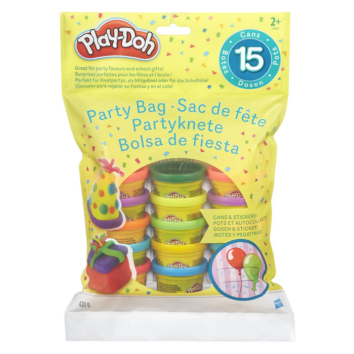 Juego play-doh bolsa de 15 mini botes