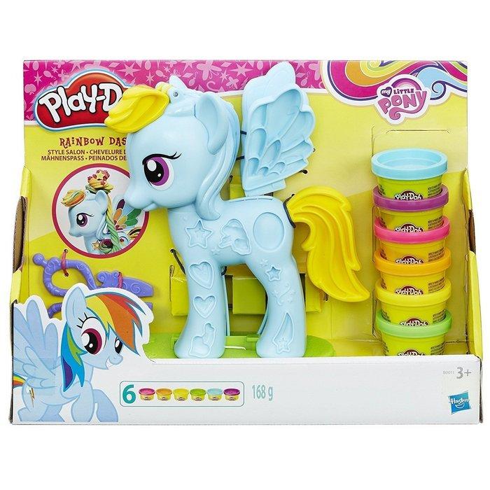 Juego play-doh my little pony rainbow dash