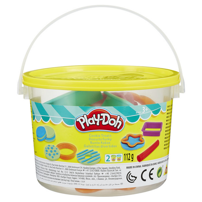 Play-doh bote con accesorios