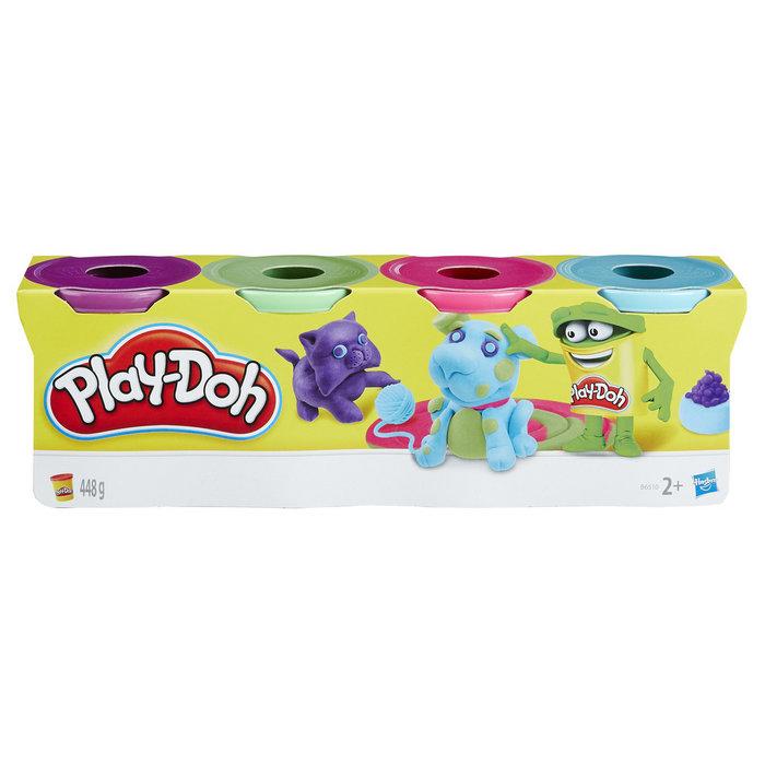 Juego play-doh pack 4 botes