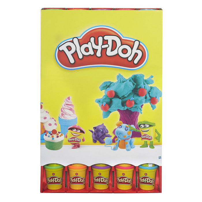 Expositor pared 40 play-doh botes surtidos