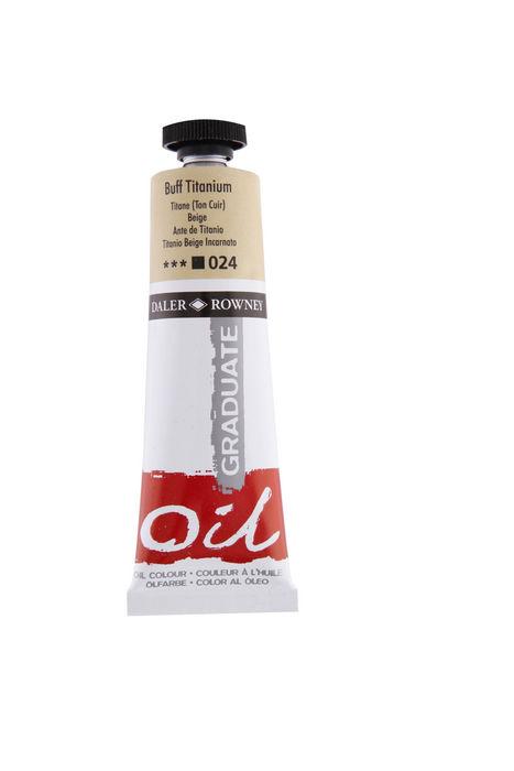 Oleo graduate 38ml buff titanium
