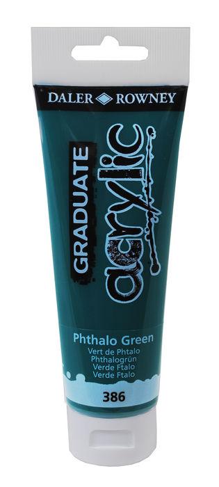 Pintura acrilica graduate 120ml phthalo verde