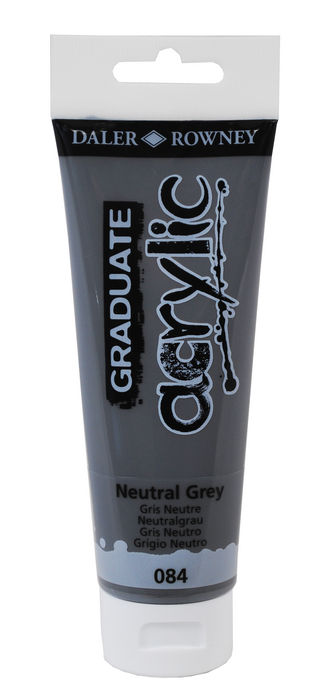 Pintura acrilica graduate 120ml neutral gris