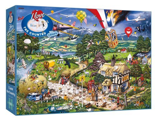Puzzle i love el campo 1000 piezas