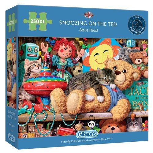 Puzzle xl durmiendo con ted 250 piezas