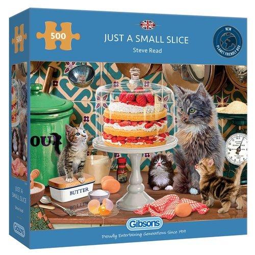 Puzzle solo una porcion de pastel 500 piezas